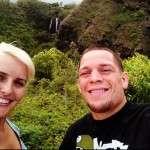 Nate Diaz Girlfriend Misty Brown
