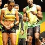 Usain Bolt gf Megan Edward
