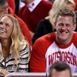 Is JJ Watt and Jennifer Aniston dating JJ Watt Girlfriend 2015 Ex Caroline Wozniacki