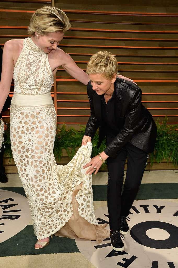 Ellen Degeneres relation