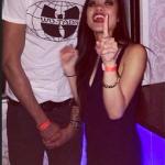 Isaiah Austin and Erika Santos