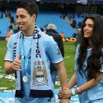 samir nasri man city girlfriend