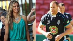Trent Merrin girlfriend