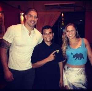 Ronda Rousey Boyfriend Brendan Schaub