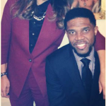Udonis Haslem dated with beautiful lady