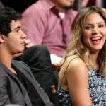 Katharine McPhee relation with co star Elyes Gabel