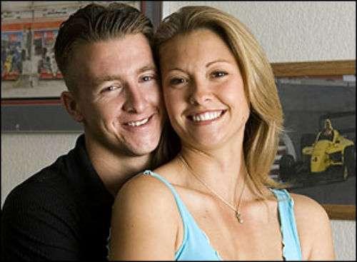 AJ Allmendinger now again dated with Lynne Kushnirenko