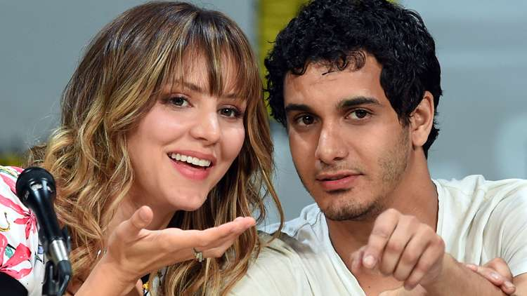 Katharine McPhee dated with co star Elyes Gabel