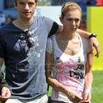 Thomas Muller and Lisa Trede pictures