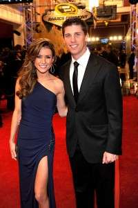 Denny Hamlin girlfriend Jordan Fish