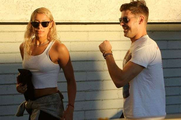 ZAC Efron latest gf
