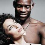 Raffaella Fico and Mario Balotelli
