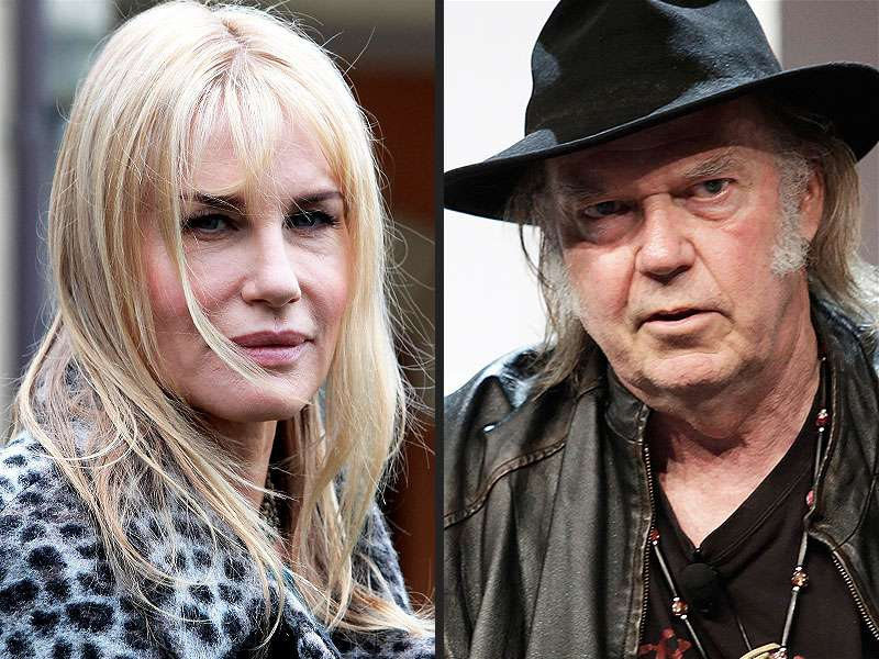 Neil Young dating with new gf
