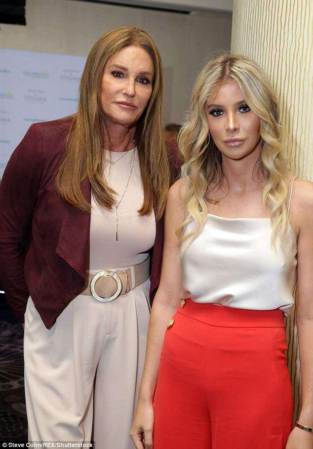 Caitlyn Jenner and also Sophia Hutchins