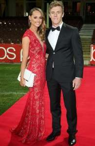 Luke Parker Sydney Swans Girlfriend Kate Lawrence