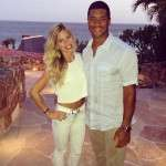 Russell Wilson and his ex