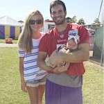 Christian Ponder Wife Samantha Ponder Age Baby Daughter Pictures