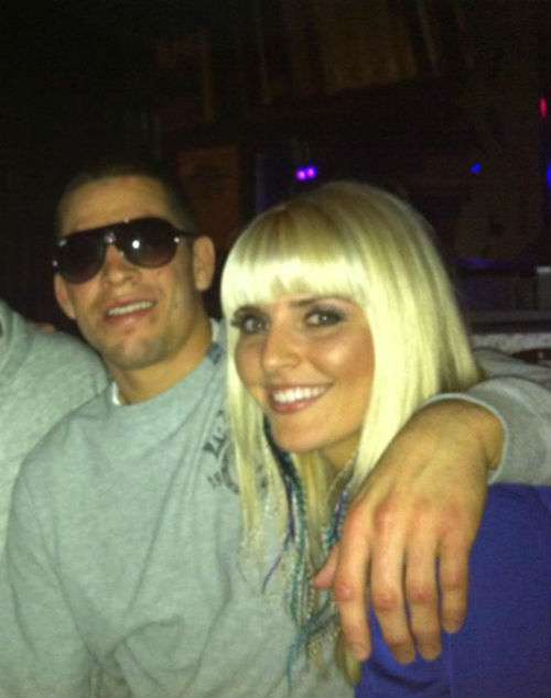 Nate Diaz Girlfriend Misty Brown Pictures