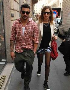 lavezzi and yanina screpante pics