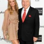 Robert Kraft on party with gf