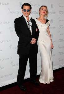 Johnny Depp Current Wife 2015 Married to Amber Heard Name Age Photos