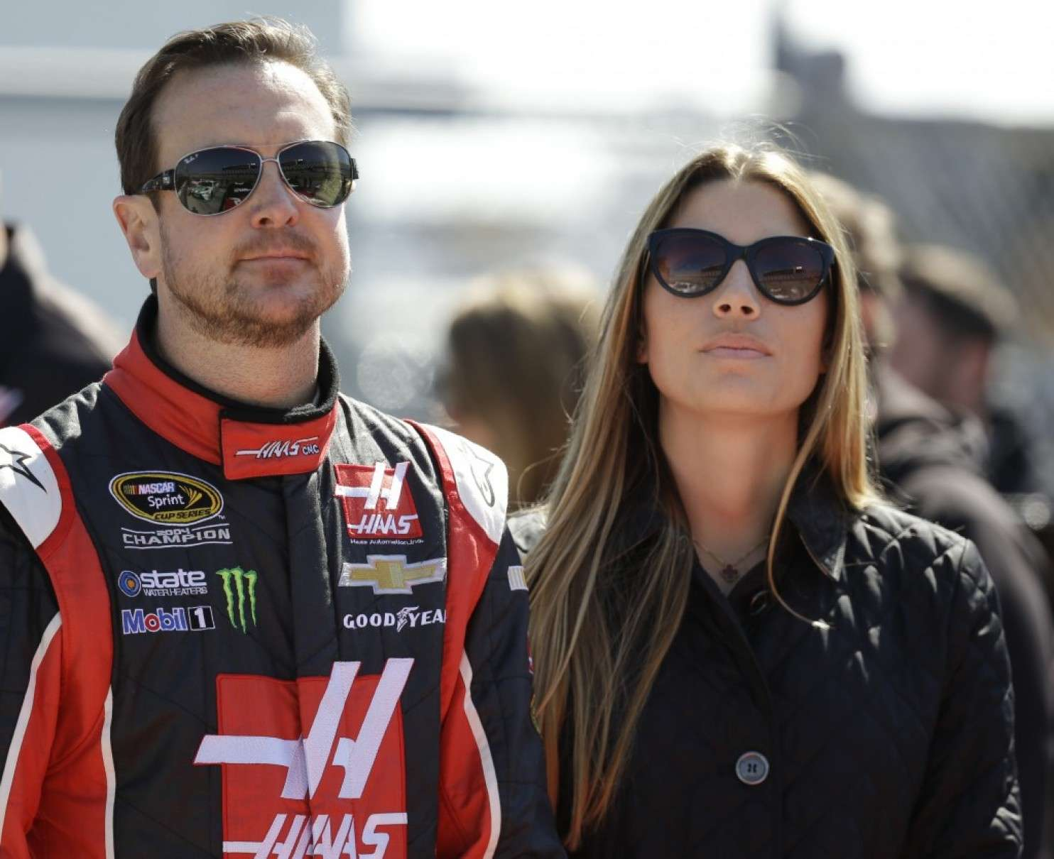 Kurt Busch is dating Ashley Van Metre