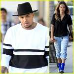 chris brown karrueche tran back togather