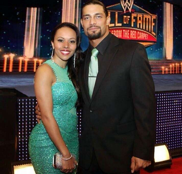 roman reigns and galina becker wedding pictures