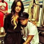 chris brown karrueche tran 2015