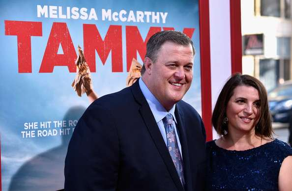 billy gardell and wife