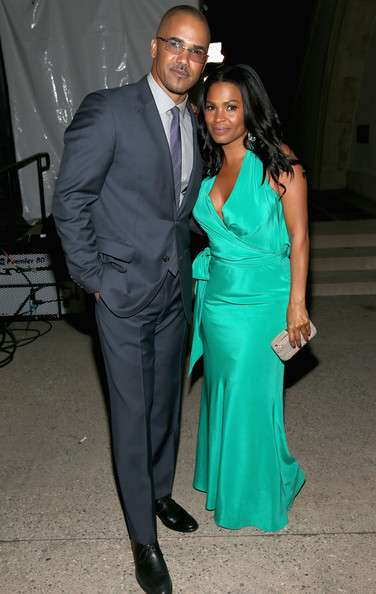 Sanaa Lathan with her ex-husband Shemar Moore