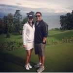 Relationship of Paula Creamer with derek heath