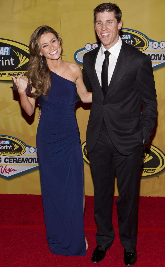 Is Denny Hamlin Married to Girlfriend Jordan Fish 2021 Wife Who