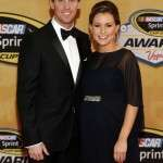 Partner of Denny Hamlin