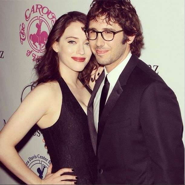 Kat Dennings relationship with Josh Groban