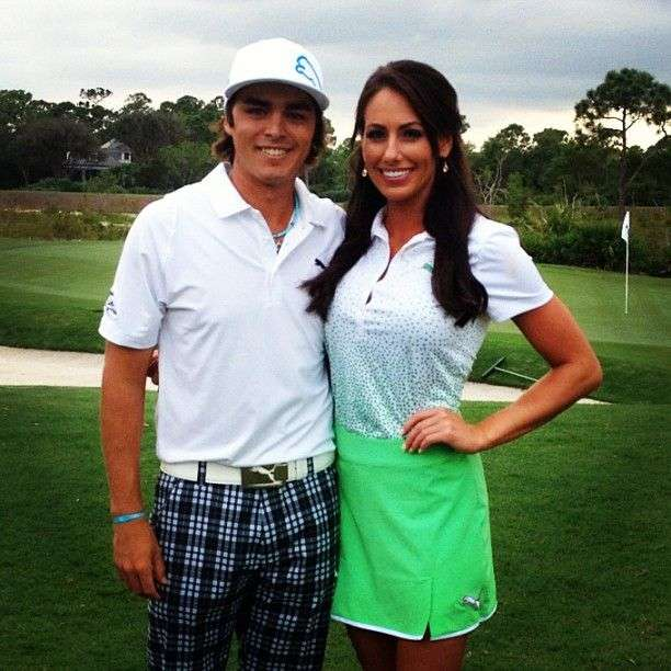 who is rickie fowler married to in 2015 rickie fowler