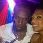 Usain Bolt gf Teahnna Banks