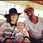 Adrienne Williams Bosh and Kids with husband