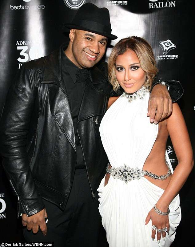 adrienne bailon engaged to lenny santiago