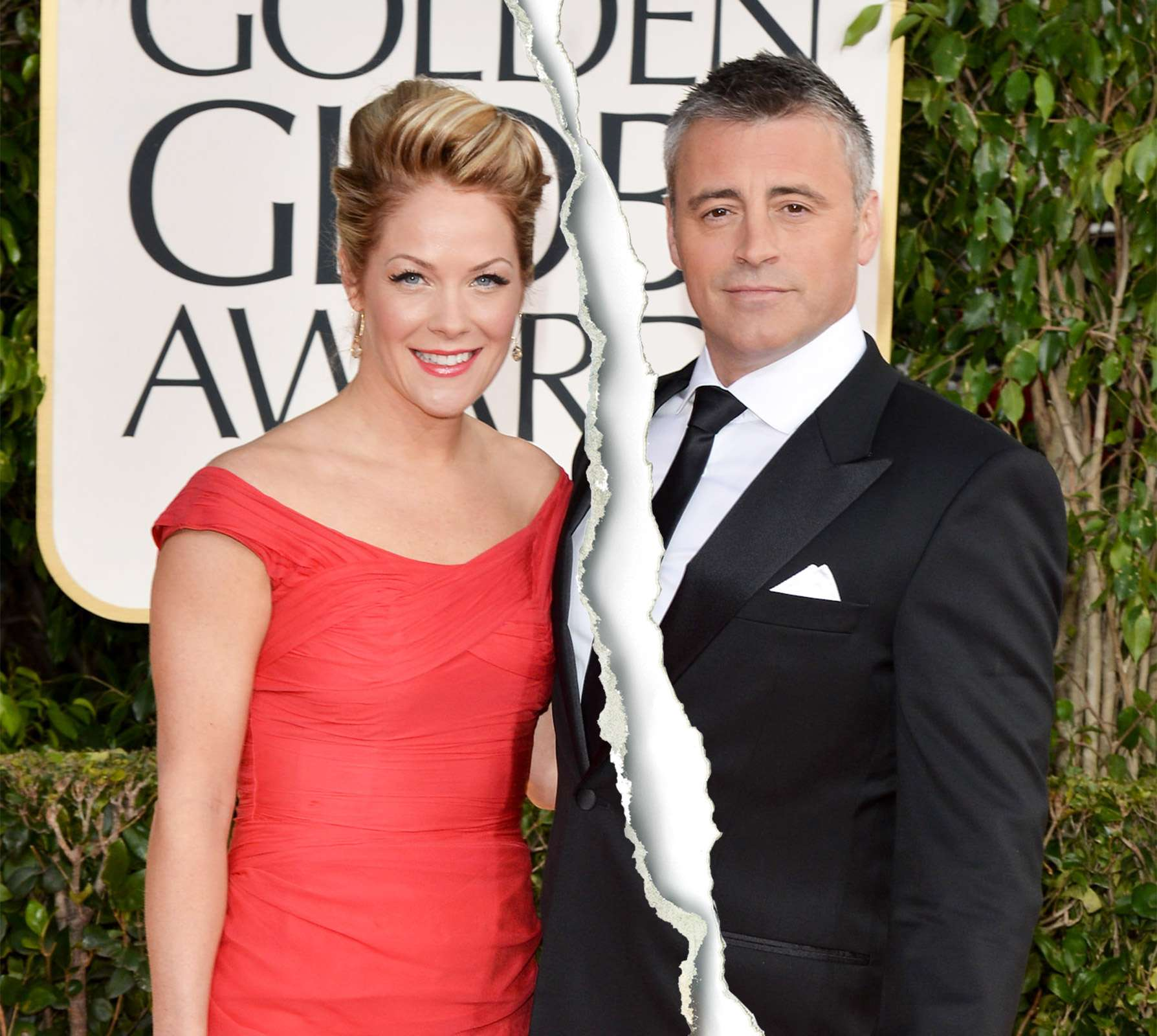 andrea anders and matt leblanc Split