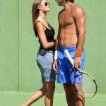 FELICIANO LOPEZ and Caroline Wozniacki