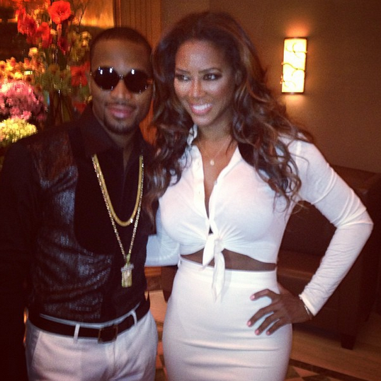 kenya moore and her husband