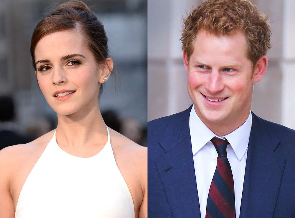 prince harry and emma watson together