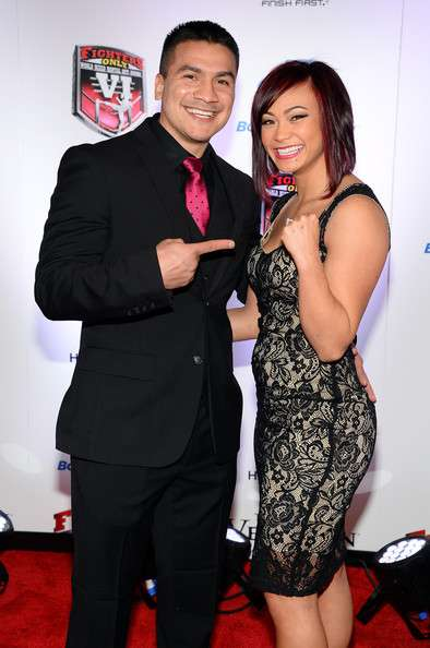Michelle Waterson wedding relations