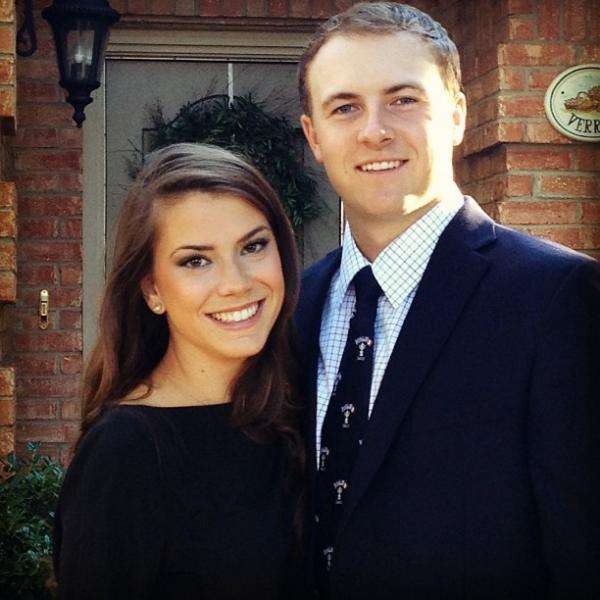 Jordan Spieth dating pictures