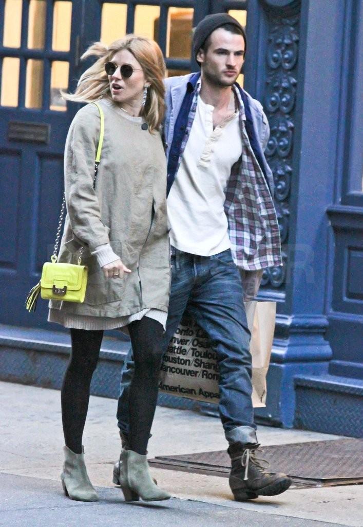 Sienna Miller fiance Tom Sturridge