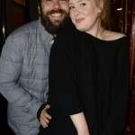 Adele with his partner picture