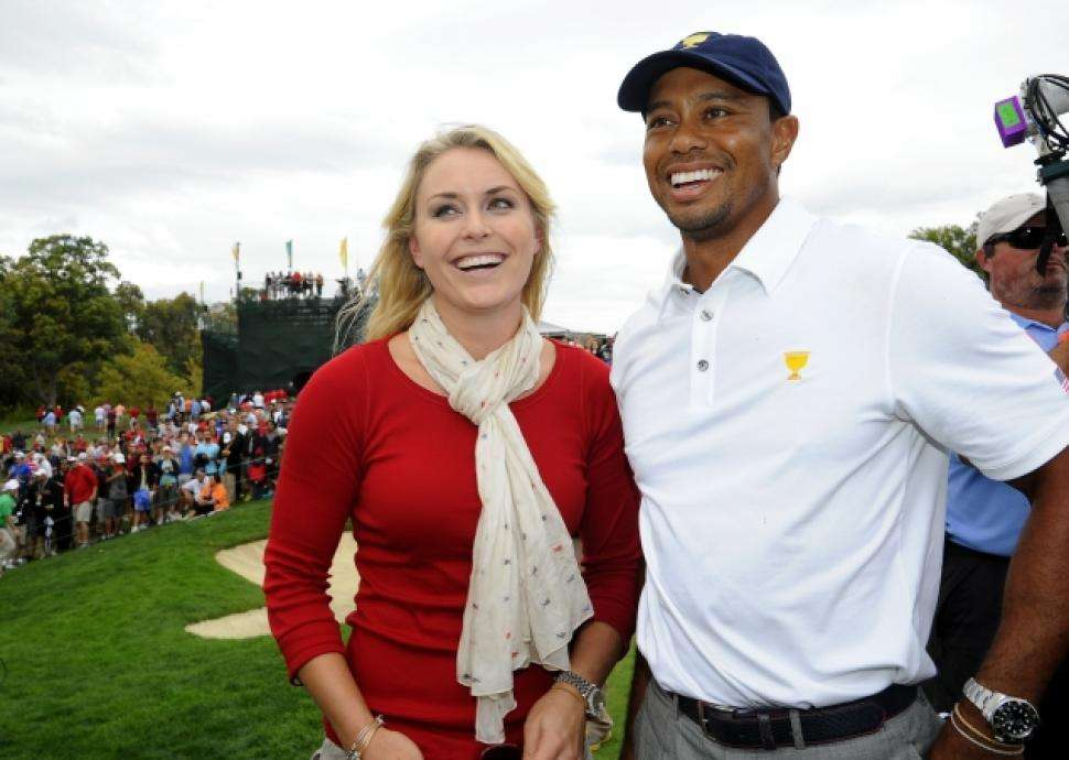 Lindsey Vonn on dating Tiger Woods: 'He doesn't even leave ...