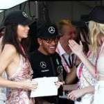 Lewis Hamilton relationship with Kendall Jenner