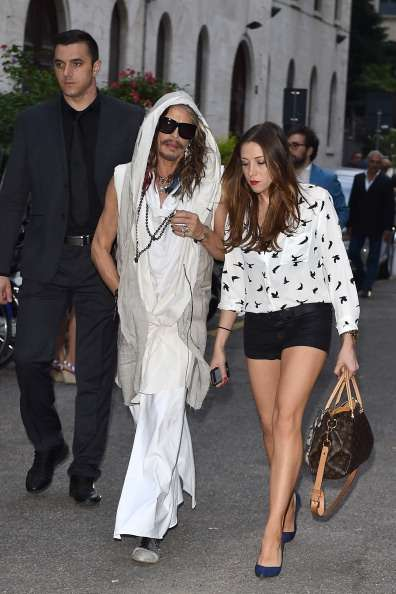 Steven Tyler new relationship Aimee Preston